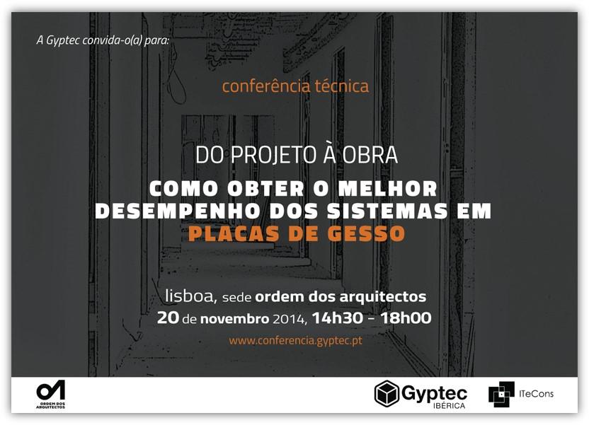 Conferência técnica na Ordem dos Arquitetos l do projeto à obra