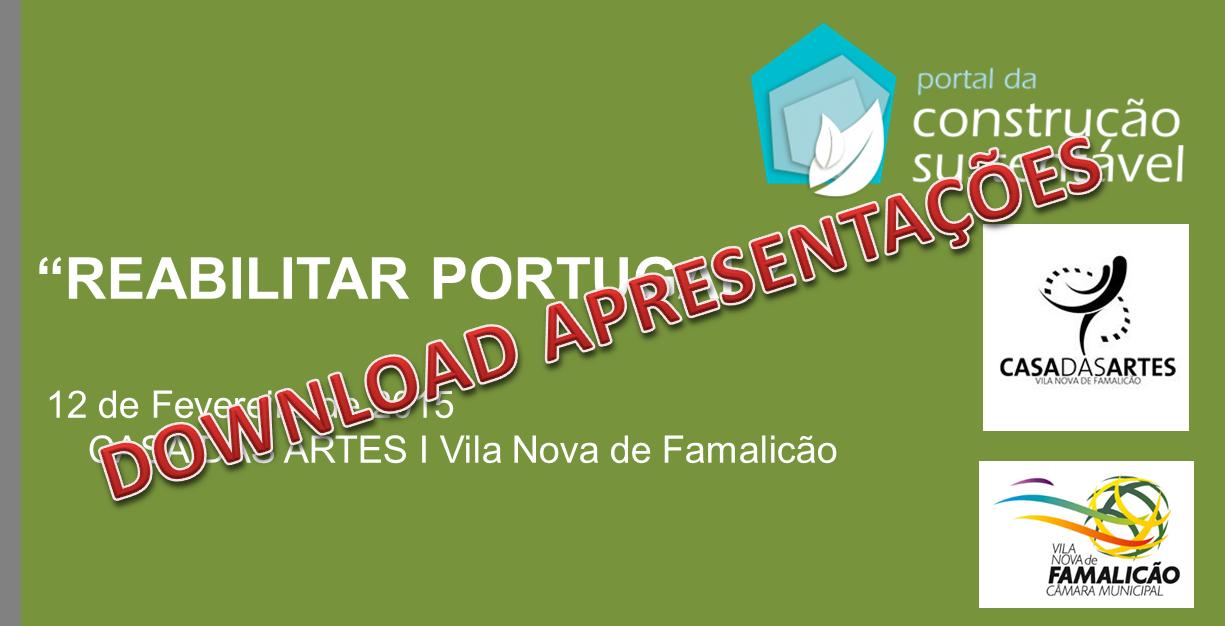 DOWNLOAD APRESENTAÇÕES | REABILITAR PORTUGAL