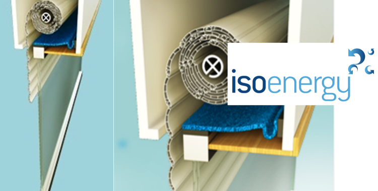 ISOENERGY | THERMAL INSULATION FOR ROLLER BLIND BOXES