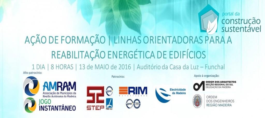 FORMAÇÃO | REABILITAÇÃO ENERGÉTICA DE EDIFÍCIOS | FUNCHAL