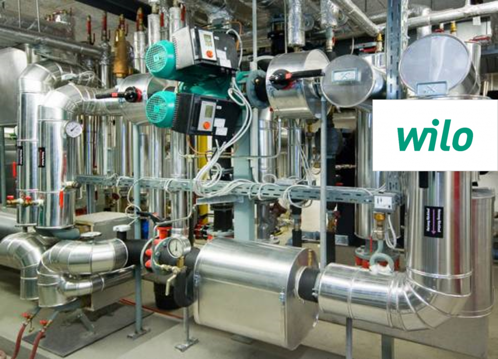 WILO | POMPES DE CIRCULATION EFFICIENTS
