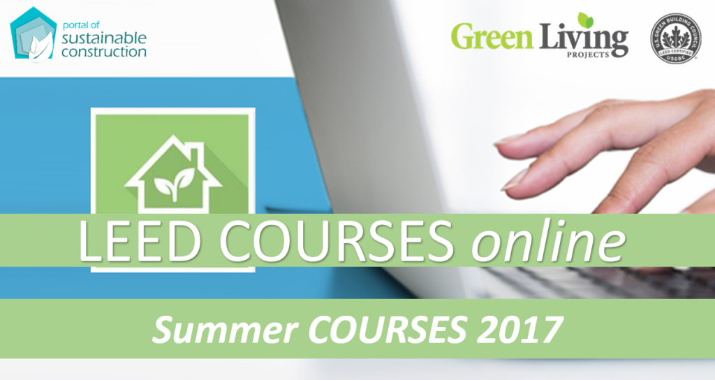LEED COURSES ONLINE | SUMMER COURSES