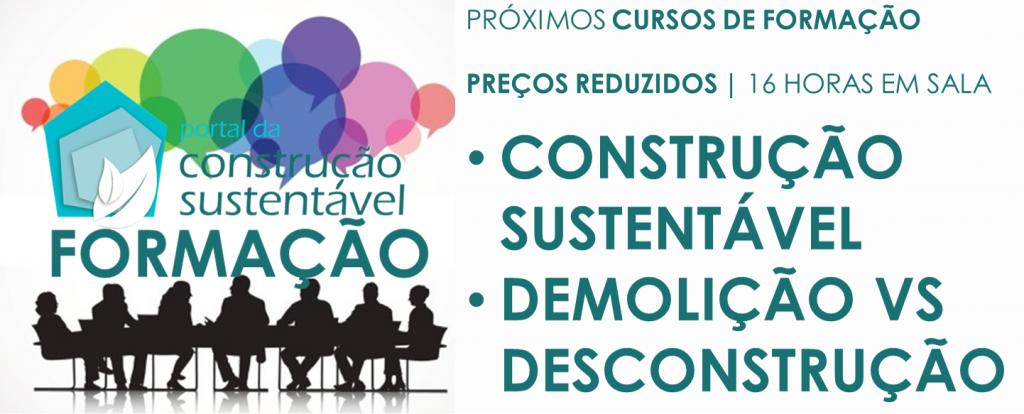 PORTAL DA CONSTRUÇÃO SUSTENTÁVEL | FORMAÇÃO