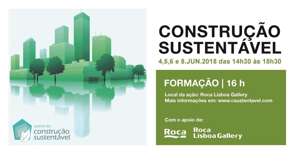 CONSTRUÇÃO SUSTENTÁVEL | FORMAÇÃO | 16H