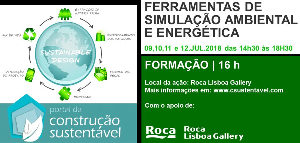 FERRAMENTAS DE SIMULAÇÃO AMBIENTAL E ENERGÉTICA    FORMAÇÃO   16H